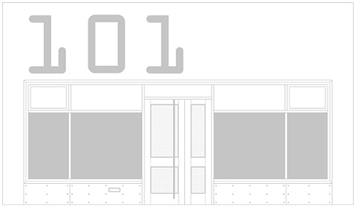 akaan facade drawing